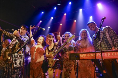 Igor and The Red Elvises with Zaphara's Dancers